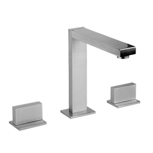 """Three hole washbasin mixer - Spout height 6-1/4"""" and projection 5-5/8"""""""