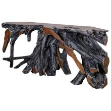 See Details - Madeira 71\u0022 Root Console Table Black