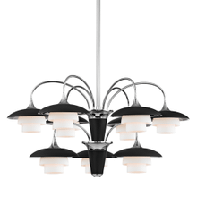 View Product - Chandelier - POLISHED NICKEL