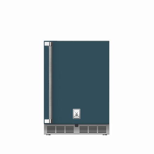 """Hestan - 24"""" Hestan Undercounter Refrigerator (Solid Door) - GRSR Series - Pacific-fog"""