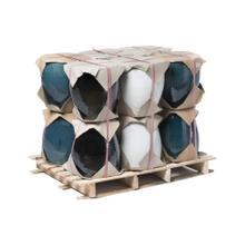Agnes Planter Mix Half Pallet-S/3, 3 colors, 4ea, 36pc total