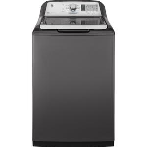 GE®4.9 cu. ft. Capacity Smart Washer with Stainless Steel Basket