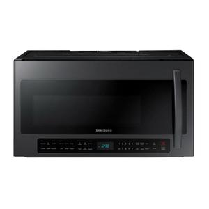 Samsung Appliances2.1 cu. ft. Over-the-Range Microwave with Sensor Cooking in Fingerprint Resistant Black Stainless Steel