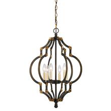 40W X 6 Howell Metal Pendant