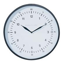 MODERN WALL CLOCK,SMALL,BLACK