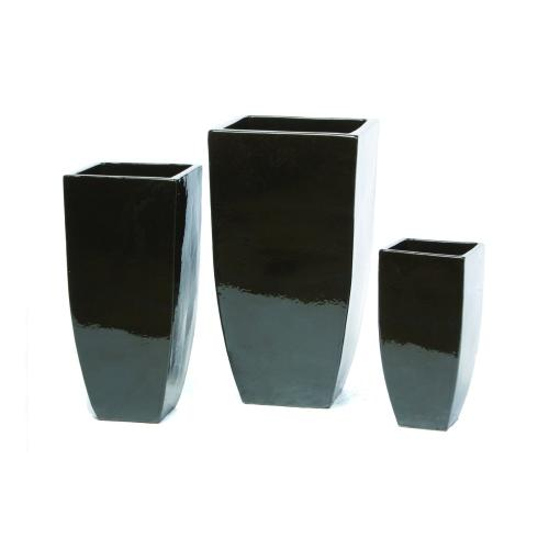 Gravity Tall Square Planter - Set of 3