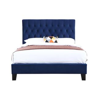 Amelia Queen Bedframe Navy