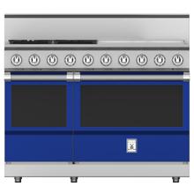 """See Details - 48"""" 4-Burner All Gas Range with 24"""" Griddle - KRG Series - Prince"""
