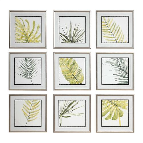 Product Image - Verdant Impressions Framed Prints, S/9