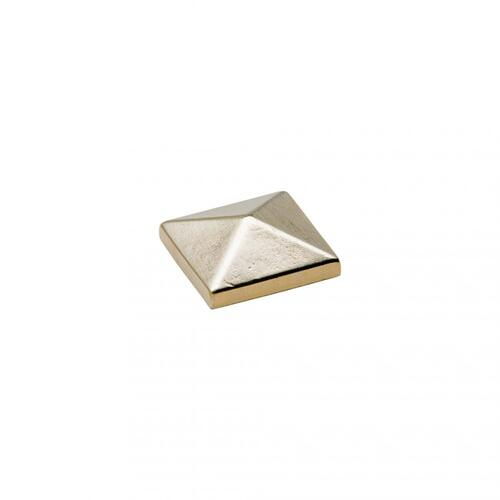 "Rocky Mountain Hardware - Large Square Clavos 2"" x 2"" - DC8 White Bronze Dark"