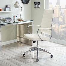 See Details - Jive Highback Office Chair in White