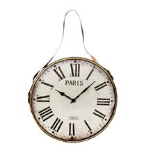 Metal Wall Clock, Gold