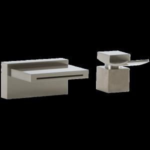 Quarto 2 Hole Deck Mount Tub Filler Brushed Nickel Product Image