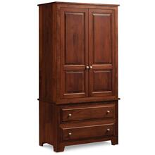 See Details - Homestead Tall Armoire on Chest