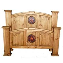 King Mansion Bed W/ Copper Star (king)