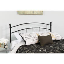Woodstock Decorative Black Metal King Size Headboard