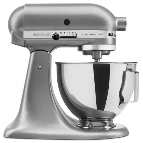 KitchenAid Canada - KitchenAid® Ultra Power® Plus Series 4.5-Quart Tilt-Head Stand Mixer - Contour Silver