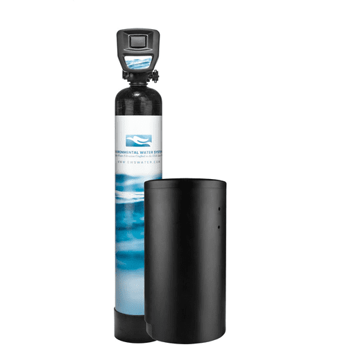 """Highly Efficient Twin Tank Softener with Advanced Touch Screen Valve, Suitable for Homes with 3/4"""" to 1 1/2"""" Line Sizes. Larger Capacity for Greater Usage and/or Harder Water."""