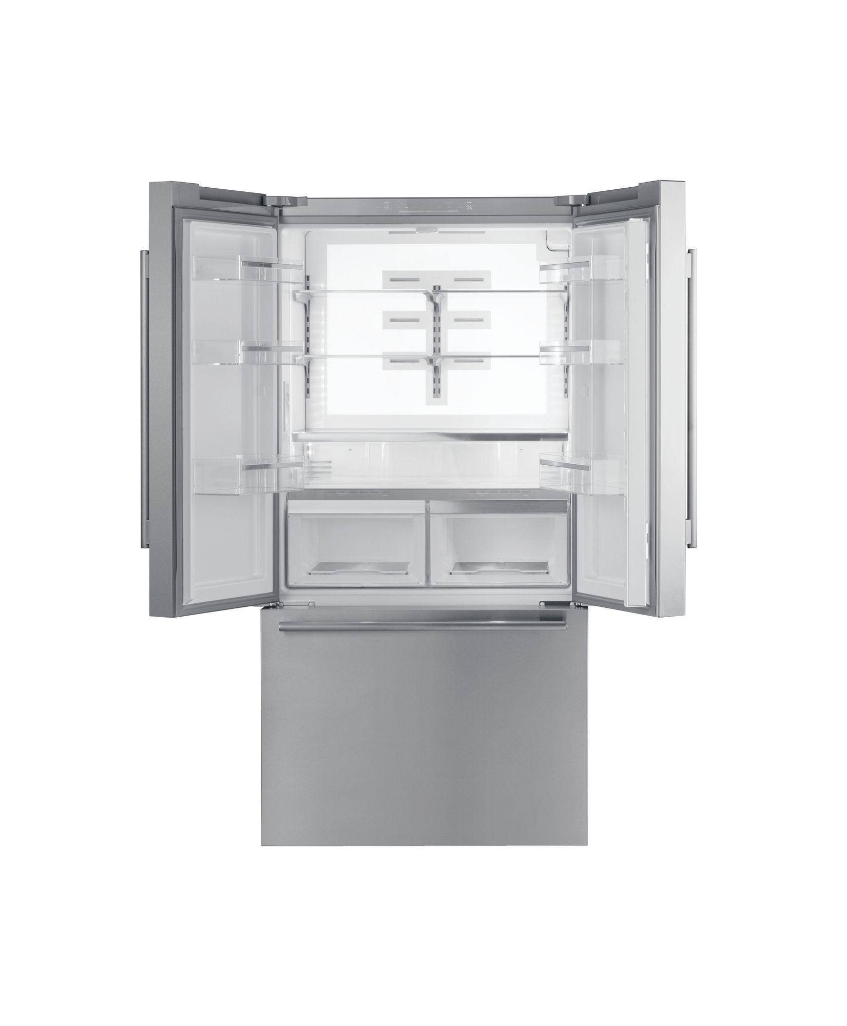 Freedom® French Door Bottom Mount Refrigerator 36'' Masterpiece® Stainless steel T36FT810NS