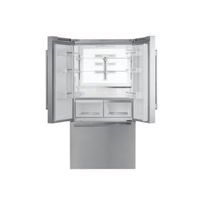 ThermadorFreedom® French Door Bottom Mount Refrigerator 36'' Masterpiece® Stainless steel T36FT810NS