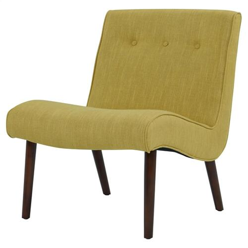 Alexis Fabric Chair, Pistachio