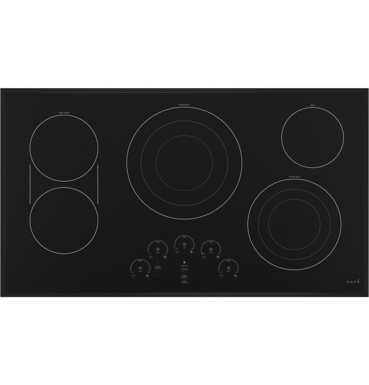"""Cafe AppliancesCafé™ 36"""" Touch-Control Electric Cooktop"""