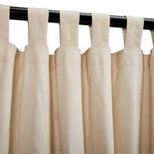 See Details - Sunbrella Sheer Honey Outdoor Curtain with Tabs