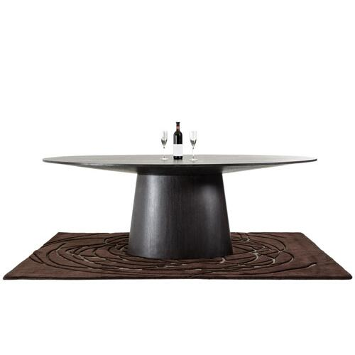Modrest Stepford Modern Wenge Oval Dining Table