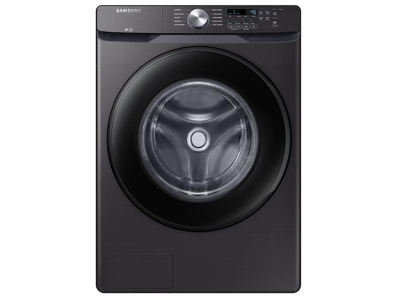 4.5 cu. ft. Front Load Washer with Vibration Reduction Technology+ in Black Stainless Steel Photo #1