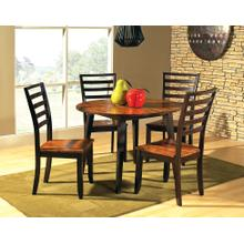 Abaco Cordovan Cherry Side Chair Set of 2