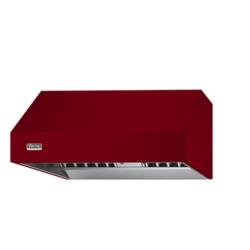 "Apple Red 36"" Wide 24"" Deep Wall Hood - VWH (24"" deep, 36"" wide)"