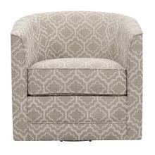 Emerald Home Milo U5029c-04-45a Swivel Chair - Joelle Silt