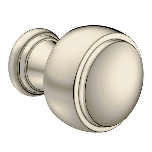 Weymouth polished nickel drawer knob
