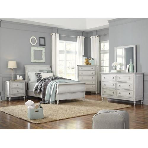 Sarah Full Sleigh Bed