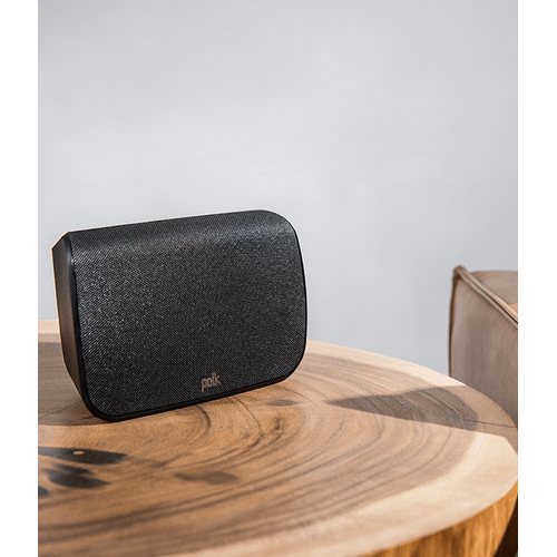 MAXIMUM PERFORMANCE TRUE 5.1 SOUND BAR WITH WIRELESS REAR SURROUNDS in Black