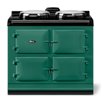 """See Details - AGA classic 39"""" Dual Control Electric/Gas Model, British Racing Green"""