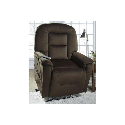 Samir Power Lift Recliner Coffee
