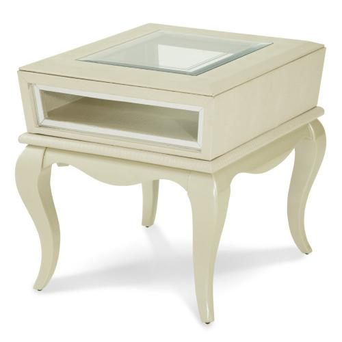 Pearl Croc End Table