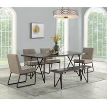 See Details - Shadow 6-Piece Dining Room Set