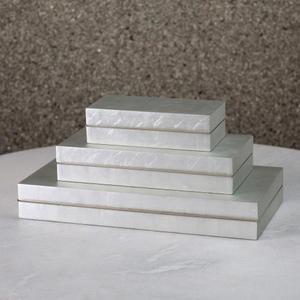 Nouveau Luxe Box-Silver Leaf-Lg