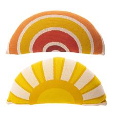 See Details - Sun & Rainbow Lumbar Knit Pillow (2 pc. ppk.)