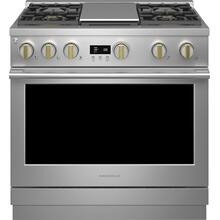 "Monogram 36"" All Gas Professional Range with 4 Burners an Griddle (Natural Gas) - Coming Spring 2021"