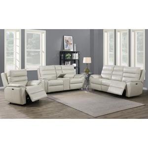 Duval Dual Power Sofa, Ivory