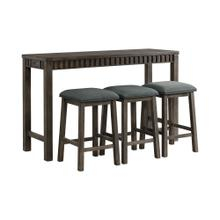Shelter Bay Multipurpose Bar Table Set