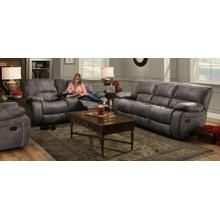 See Details - Ulysses Charcoal Reclining Sofa