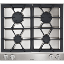 200 series Vario 200 series gas cooktop Stainless steel control panel Width 24 '' Natural gas