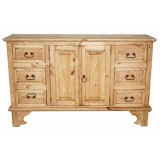 See Details - Hacienda 6 Drw 2 Door Dresser
