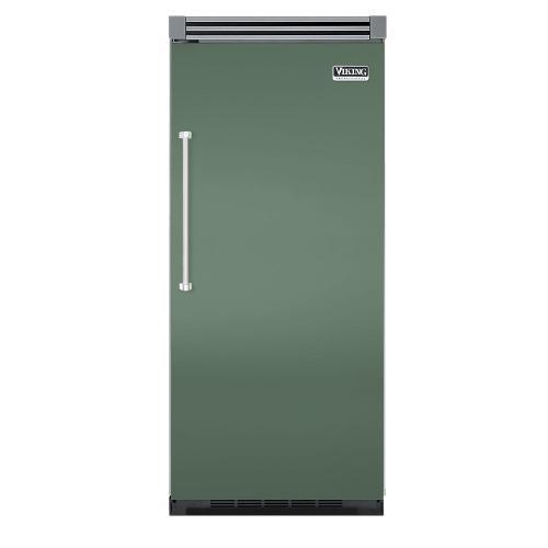 "Viking - Mint Julep 36"" Quiet Cool™ All Refrigerator - VIRB Tru-Flush™ (Right Hinge Door)"