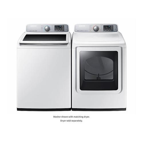5.0 cu. ft. Top Load Washer in White