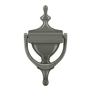 Deltana - Door Knocker, Victorian - Antique Nickel